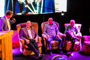40 jaar jubileum-Kees van den Dool-Gerrit Aantjes-Jaap Krijger